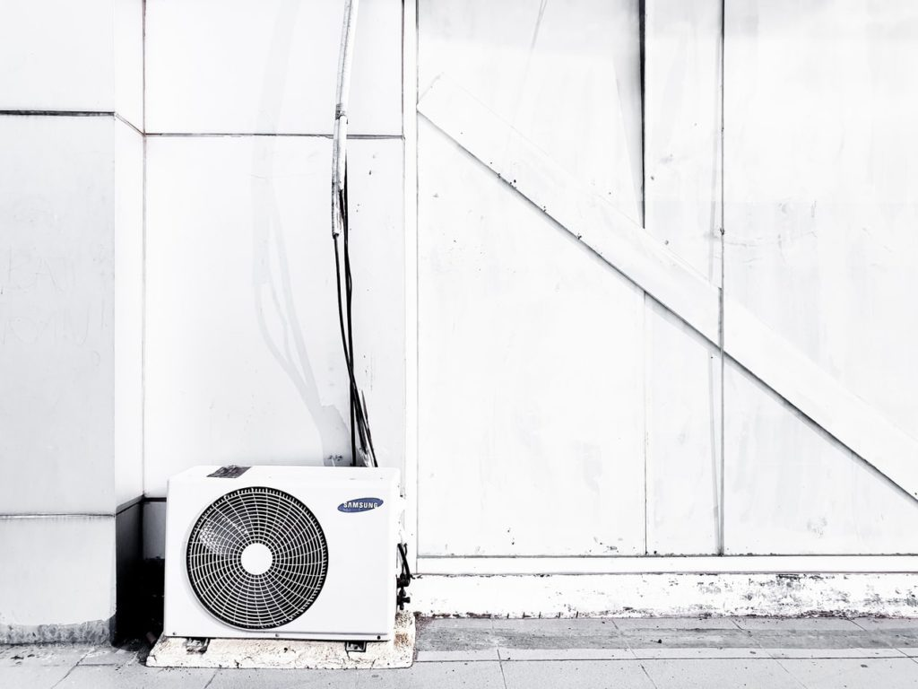 klimatyzacja zewnętrzna jednostka